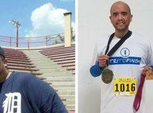 Man runs Detroit marathon after losing nearly 500 pounds — let's congratulate him!