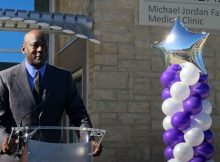 Michael Jordan opens medical clinic for low-income families in Charlotte