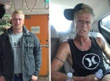 Mom shares photos of son to show the heartbreaking reality of addiction