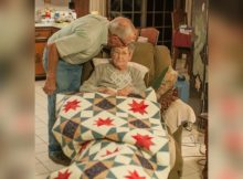 Photographer captures final precious moments between husband and wife of 65 years