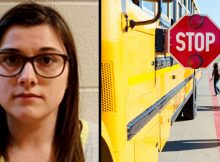 Woman kills 3 children getting onto school bus after ignoring stop sign in pickup truck