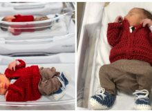 Hospital honors Mr. Rogers on World Kindness Day by dressing babies in his iconic sweaters