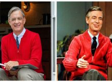 Tom Hanks finds out he's related to Mr. Rogers after playing him in a film