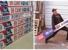 You can now buy a gigantic 99-can case of PBR