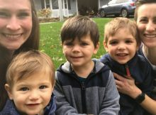 Couple adopts 3 biological brothers under age 4 so they can grow up together