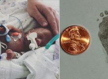 Micro preemie born with feet small as a penny can finally go home after 113 days in NICU