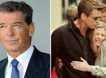 Pierce Brosnan held his daughter's hand as he watched her die of the same cancer that took his wife