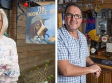 Woman builds pub in backyard to stop husband leaving for beers