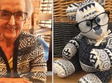 Woman turns clothes of lost loved ones into memory bears for grieving families to cherish