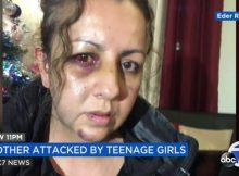 Mom brutally attacked by teen girls as she walked into high school to discuss bullied daughter
