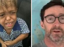 Hugh Jackman sends powerful message of support to bullied 9-year-old with dwarfism – thank you, Hugh