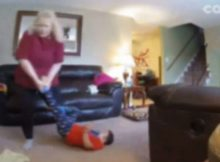 Mom notices 4-year-old son with Down syndrome acting strangely, so she installs hidden nanny cam