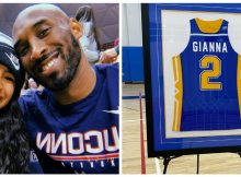 School honors Gianna Bryant by retiring her basketball jersey number