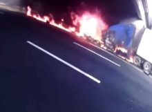New Jersey troopers rescue man from burning truck seconds before it explodes